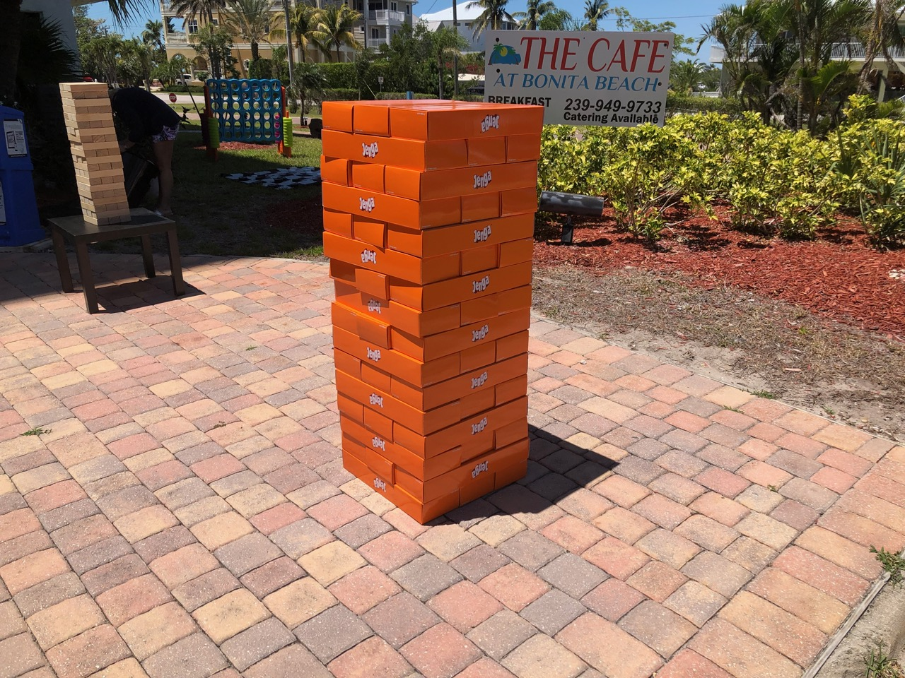 Jumbo Jenga Rental Florida - Corporate R