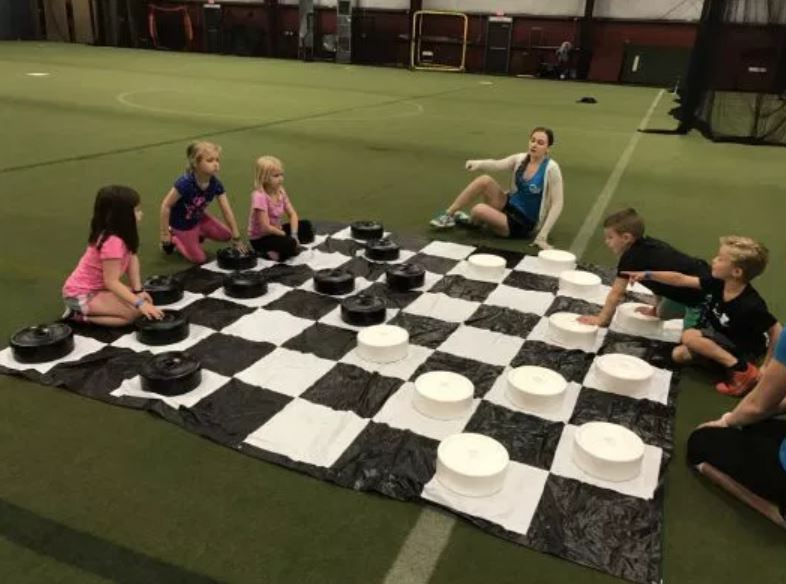 Jumbo Checkers Party Rentals - Event Rentals Florida - Weston 786-423-8759