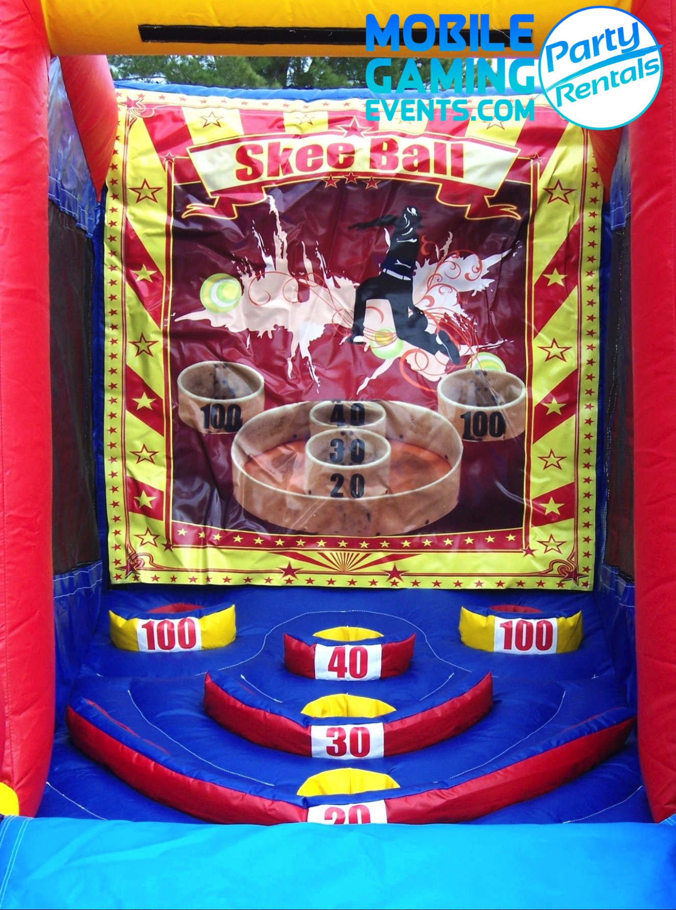 Skeeball Inflatable Rental - Corporate E