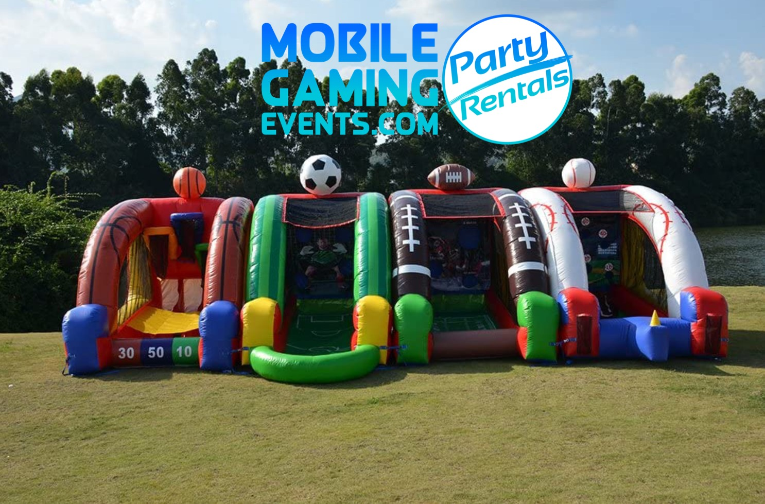 Sports Inflatable Party Package - Corpor