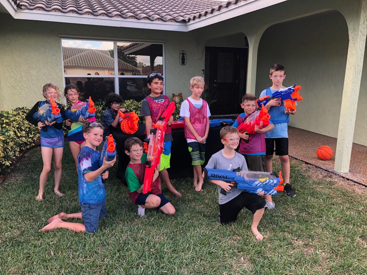 NERF Gun Rental Florida - Birthday Party