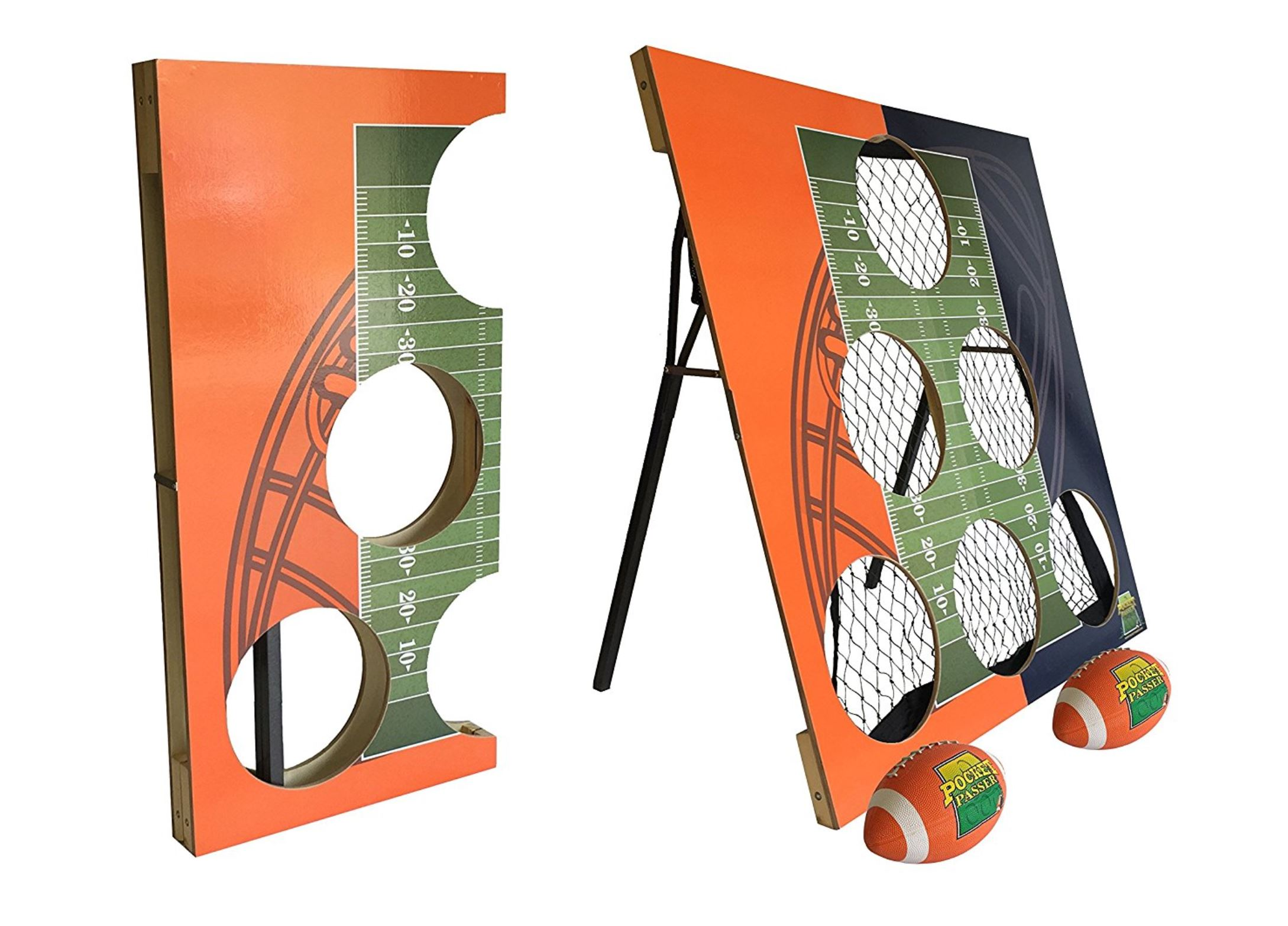 Football Cornhole - Birthday Party Rentals - Boca Raton, FL 786-423-8759