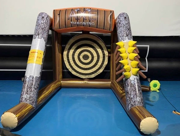Axe Throwing Inflatable - Party Rentals