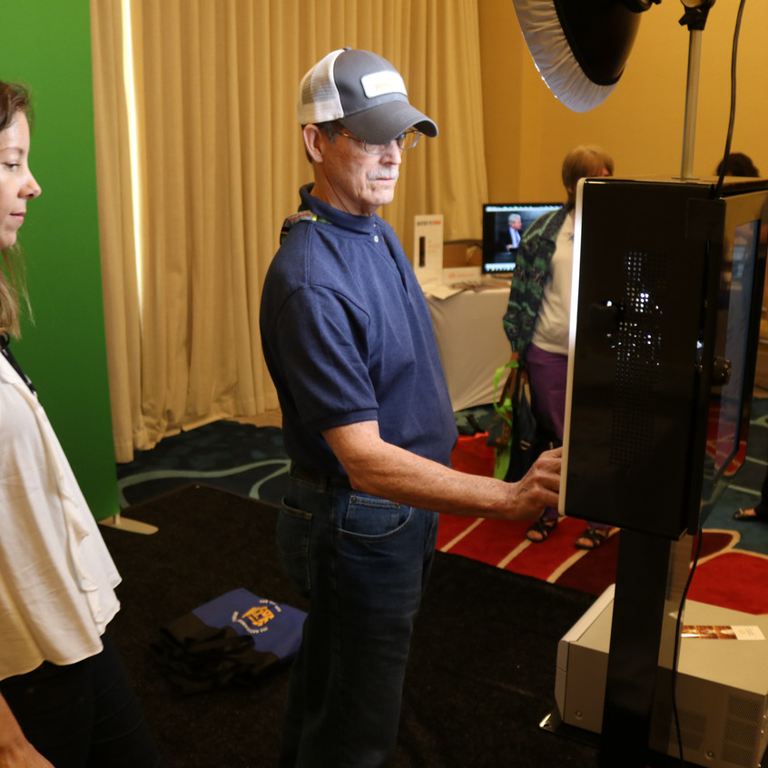 Green Screen Photobooth Miami Beach