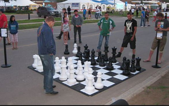 Jumbo Chess Party Rental - Broward Country Party Rentals - Fort Lauderdale 786-423-8759