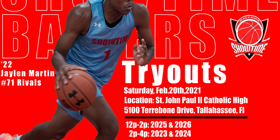 Showtime Ballers Tryout | Tallahassee
