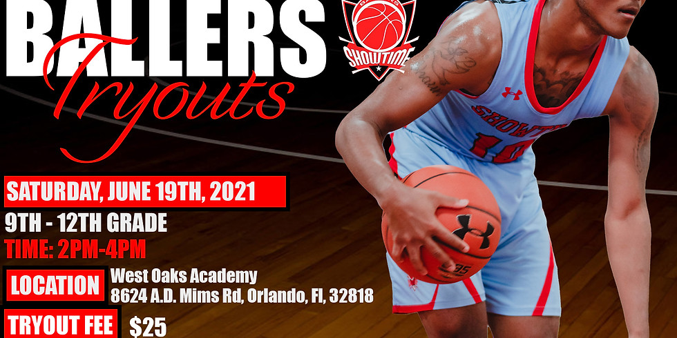 Showtime Ballers July Tryout