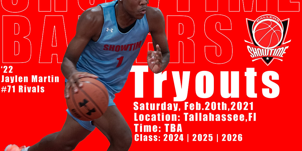 Showtime Ballers Tryout