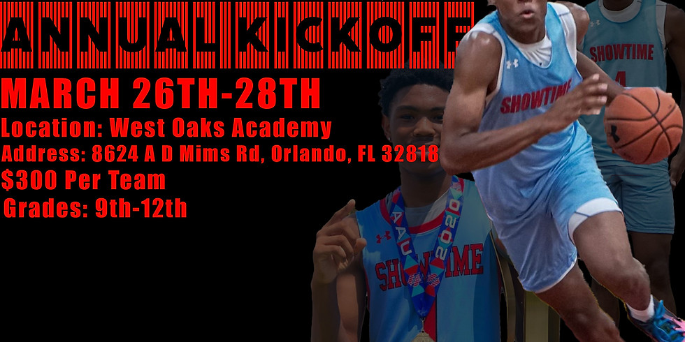 Showtime Ballers Annual Kickoff