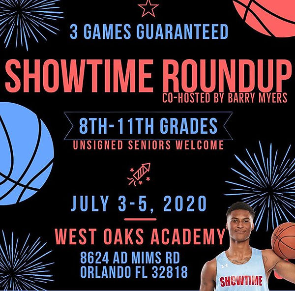 Showtime Ballers Round Up will be loaded