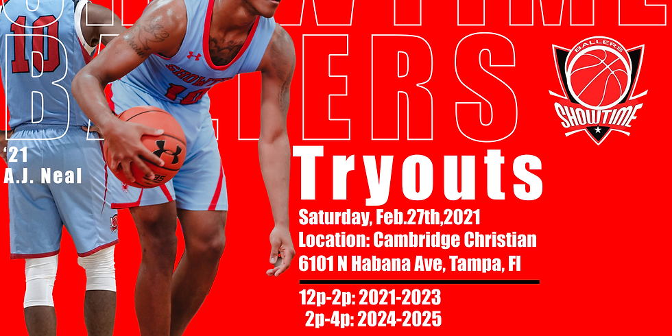 Showtime Ballers Tryout | Tampa