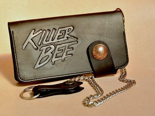 Killer bee wallet (no coins) Black
