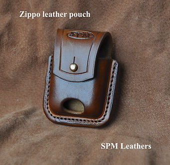 Zippo leather pouch