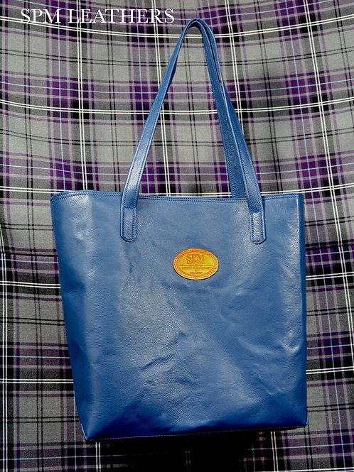 Tote bag, Italian soft leather