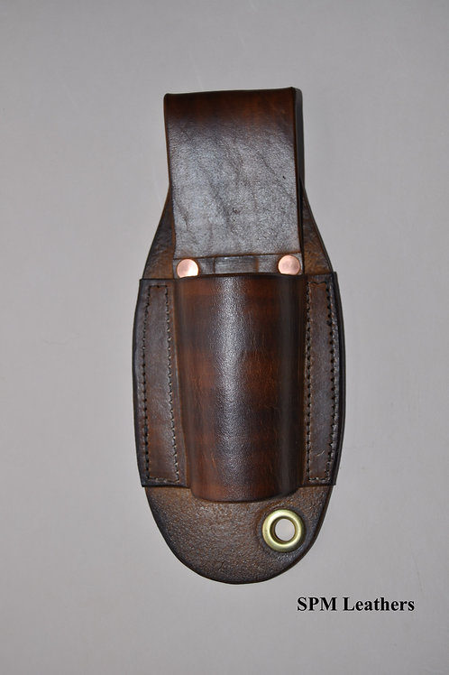 Leather pinpointer sheath