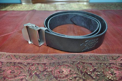 Killer Bee leather belt