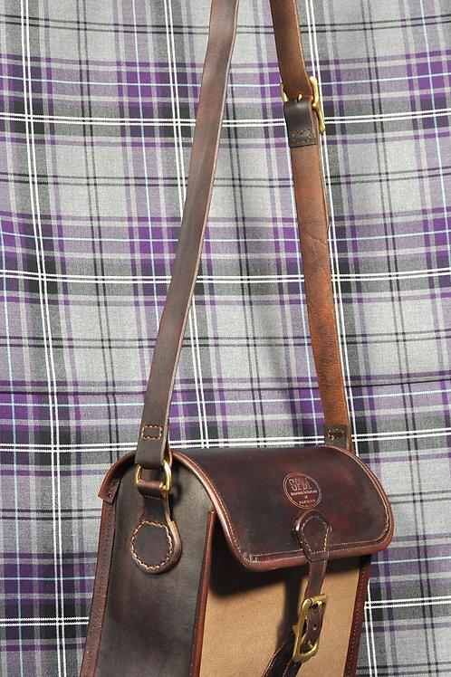 Leather & Canvas handbag