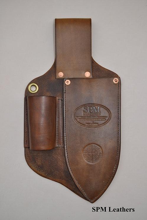 Leather Nokta/Garrett digger and pointer sheath