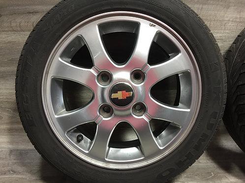 Litá kola (Chevrolet) 4x