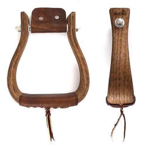 "Flat Bottom Rancher Oak 3"""