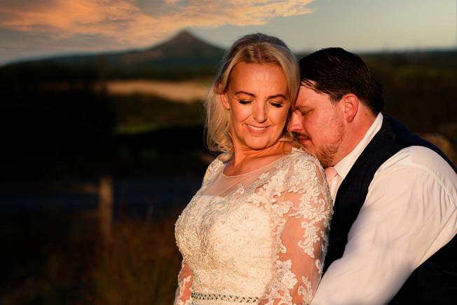 Bride & Groom North Yorkshire Wedding