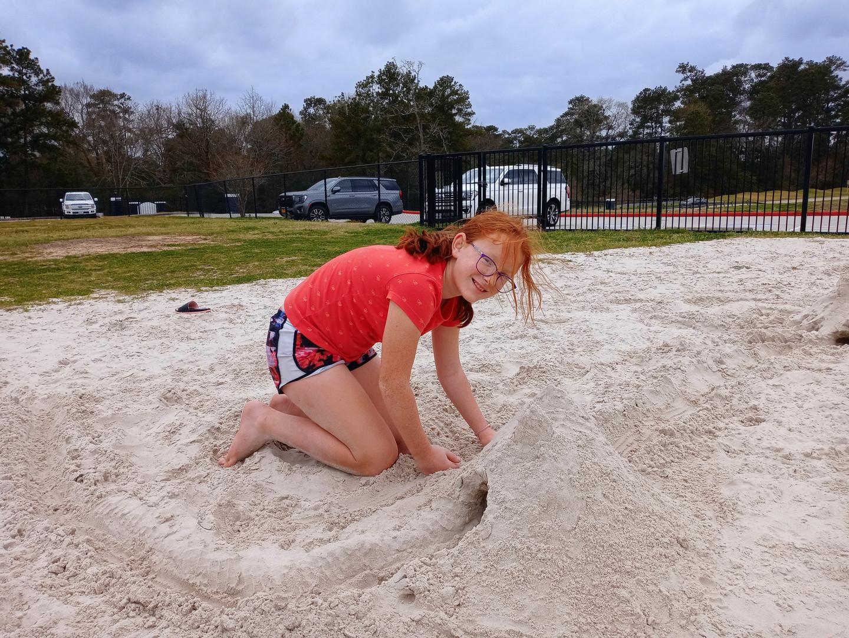 Sand Castle Build
