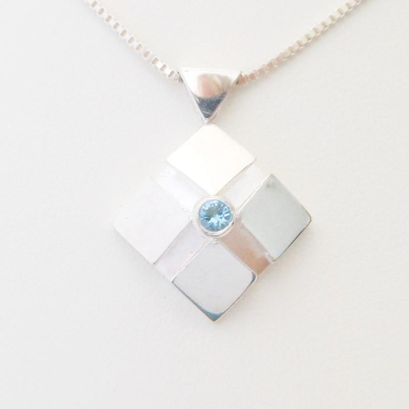 small lotus pendant