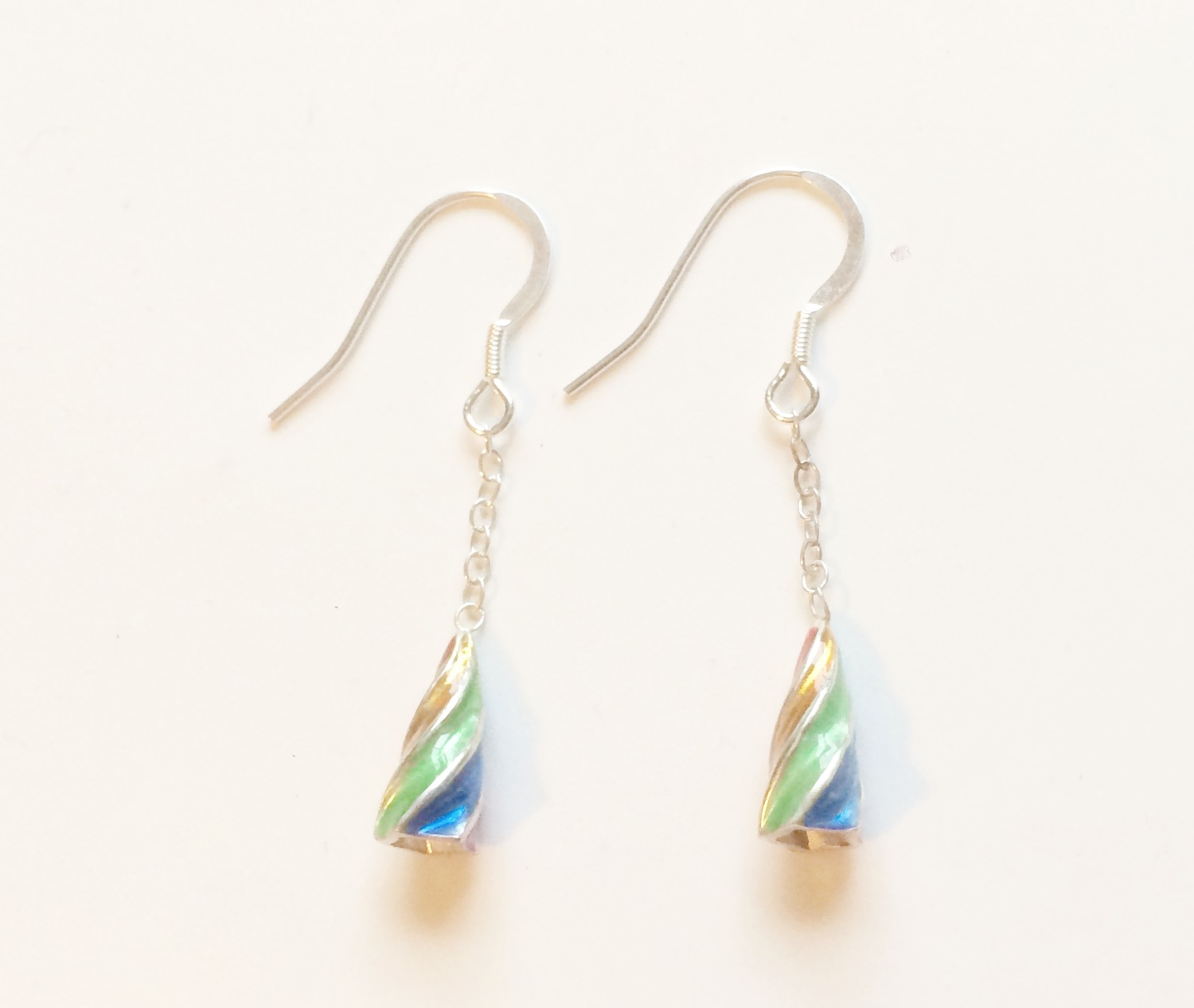Gaudi spiral earrings