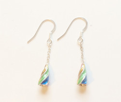 Gaudi spiral earrings