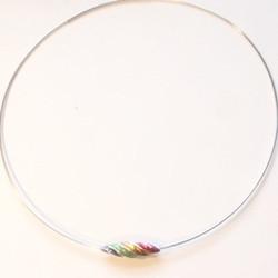 Gaudi spiral choker bead