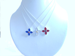 small gentian pendants