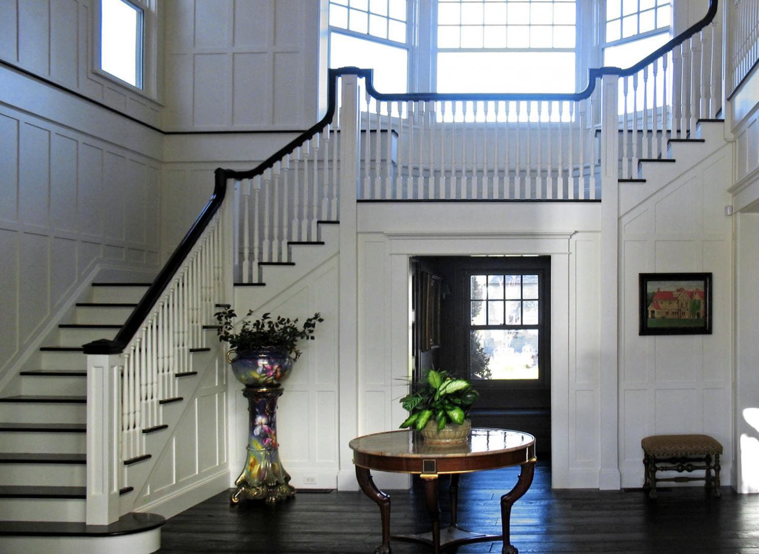 Foyer. Custom Home