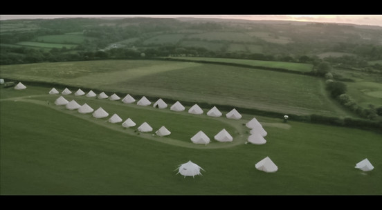 WE CLEAN BELL TENTS