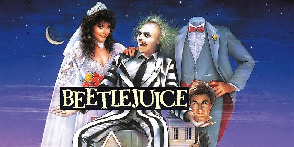 Free Beetlejuice Outdoor Movie Night