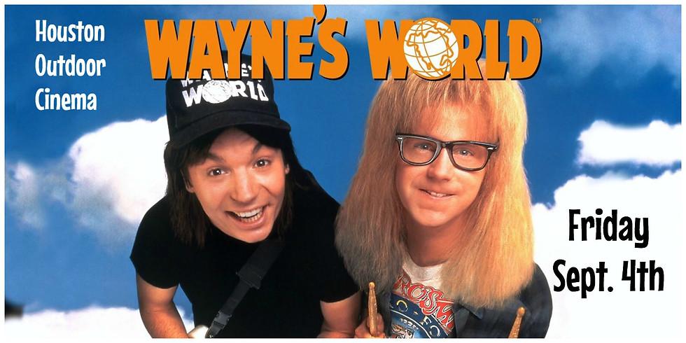 Free Wayne's World Outdoor Movie Night