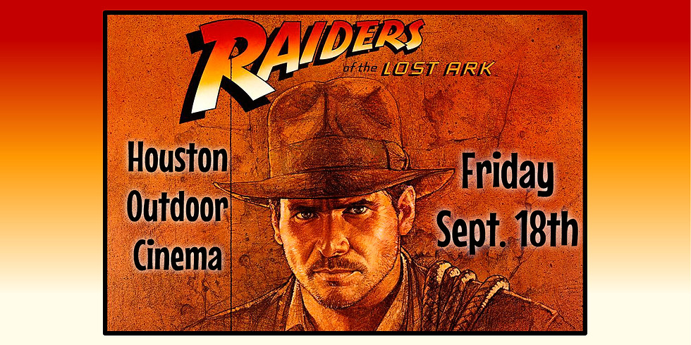 Free Raiders of the Lost Ark Outdoor Movie Night