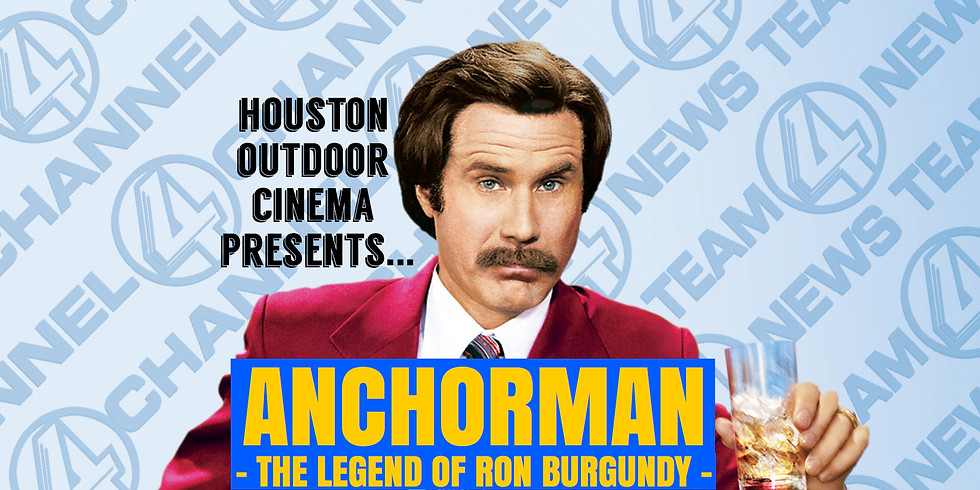 Free Anchorman Outdoor Movie Night
