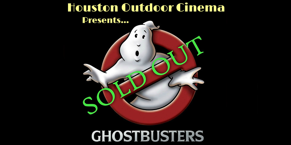 Free Ghostbusters Outdoor Movie Night