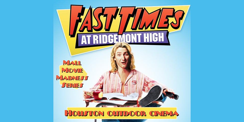 FREE Fast Times Movie Night