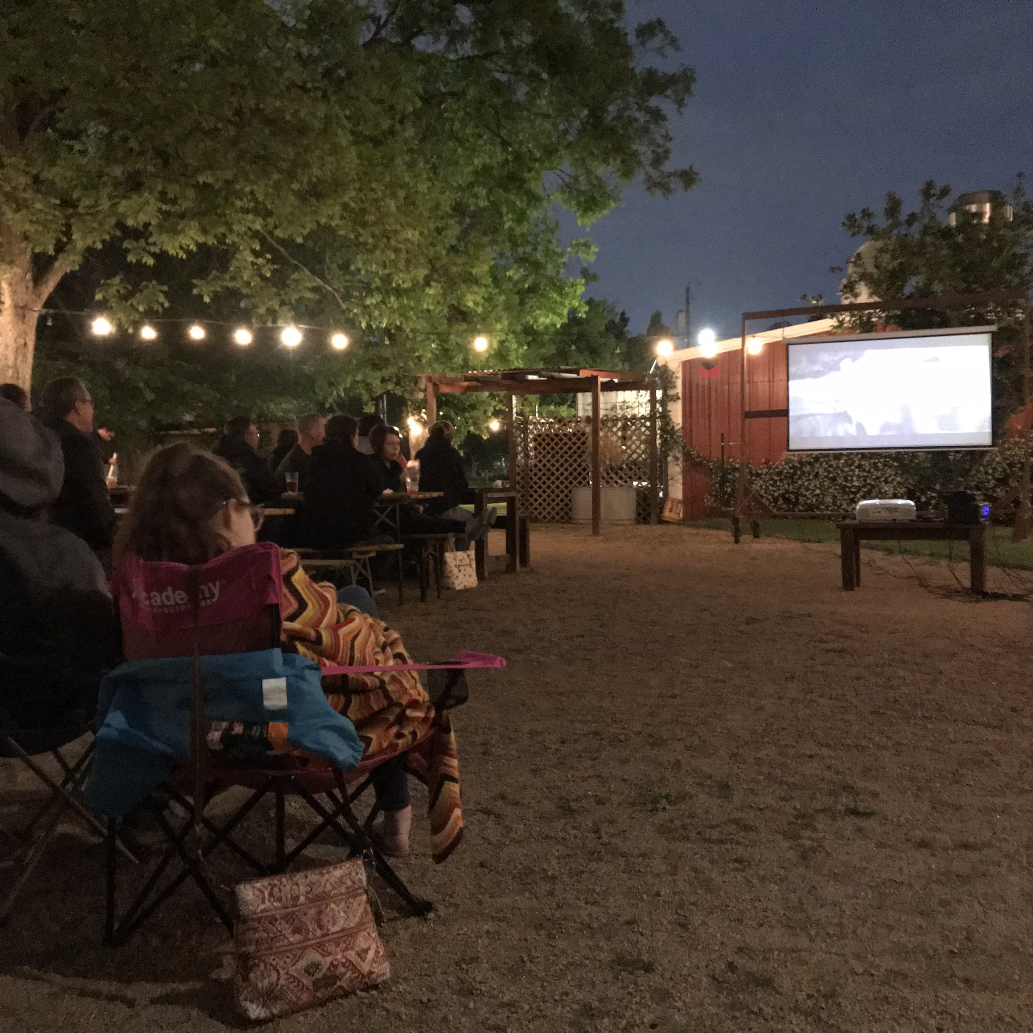 Ask about an outdoor screening!