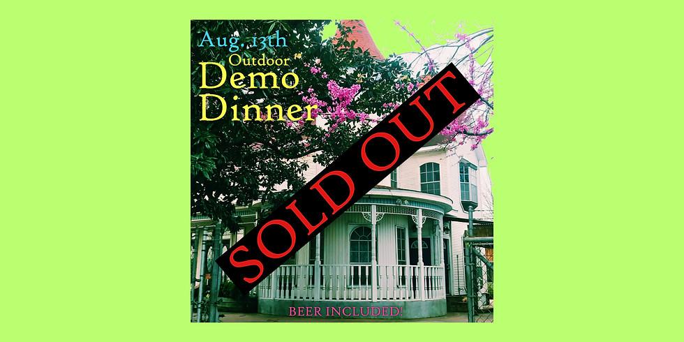 Backyard Demo Dinner