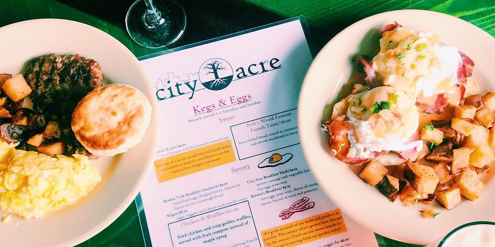 City Acre Brewing Brunch Demo Dinner