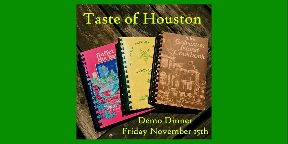 City Acre Brewing Taste of Houston Demo Dinner