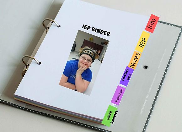 IEP Binder Kit