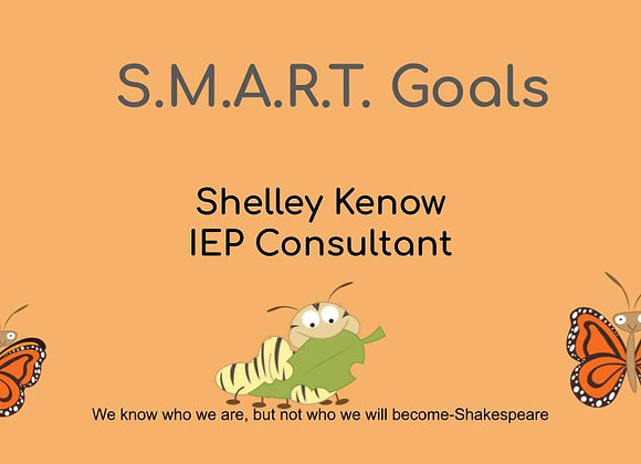 SMART Goals Video Tutorial