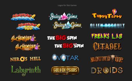 Logo design for games