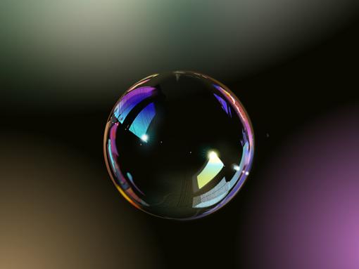 Bubble - 100% Vector - 4 Different Software Comparative