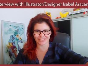 Interview with Illustrator & Designer, Isabel Aracama