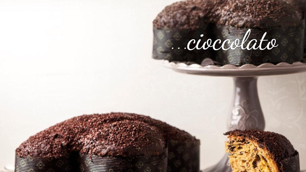 Colomba Cioccolato Dogliani incarto semplice