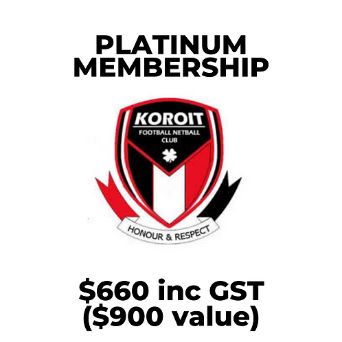 2020 Saints Platinum Membership